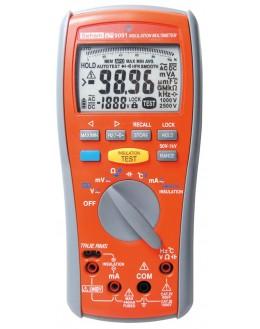 MW 9091 - multimètre, mesureur d'isolement de 50 à 1000v - SEFRAM MW9091