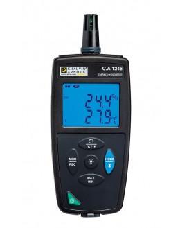 P01654246 - Thermo hygrometre - CA1246 - CHAUVIN ARNOUXP01654246 - Thermo hygrometre - CA1246 - CHAUVIN ARNOUXP01654246 - Thermo
