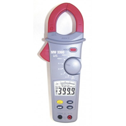 MW3360 - 600 AAC Clamp Meter / DC and AC / DC - SEFRAMMW3360 - 600 AAC Clamp Meter / DC and AC / DC - SEFRAMMW3360 - 600 AAC Cla