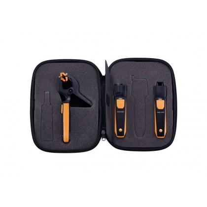 Kit chauffagiste Manomètre différentiel + smart probes avec commande Smartphone - Testo 510 i