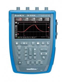 OX9104 - Oscilloscope numérique 4x100Mhz 2,5Géch/s écran couleur - METRIX - remplace OX7104