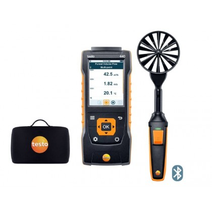 Analyseur multifonctions pour applications climatique - TESTO 440