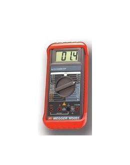 M5091 - Multimètre numérique 600 V - MEGGER