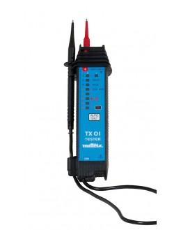 Nom TX 01- Testeur de tension et de continuité à LEDs – METRIX