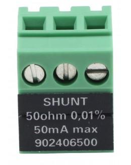 Shunt 4-20mA / 50 ohms pour DAS220 / DAS240 - SEFRAM