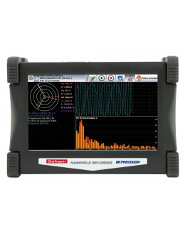 DAS 60 - Enregistreur numérique portable 6 voies universelles, 2 voies PT100/1000 écran tactile - SEFRAM