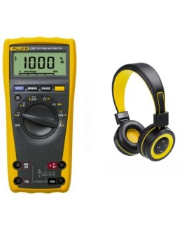 FLUKE 175 - Multimètre numérique 6000 pts TRMS AC + Casque bluetooth offert - FLUKE