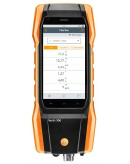Testo 300 - Analyseur de combustion (O2, CO jusqu'à 4 000 ppm) - TESTO