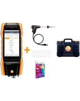 Testo 300 Premium lot - analyseur de combustion (O2, CO jusqu'à 15 000 ppm) - Testo 0564 3004 80