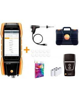 Testo 300 Premium lot avec imprimante- analyseur de combustion (O2, CO jusqu'à 15 000 ppm) - Testo 0564 3004 81