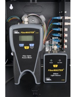 FiberMASTER - Kit de Photométrie avec source et Photomètre multi/mono/FTTX - IDEAL NETWORKS