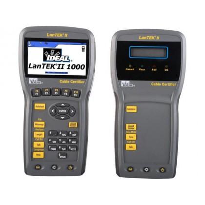 LanTEK III-1000 - Certificateur 1000MHz - Cat. 7A / Classe FA et en dessous - Ideal Networks