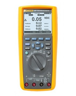 FLUKE 287 - Multimètre 50000 points, enregistreur TRMS AC+DC - FLUKE-287/EUR
