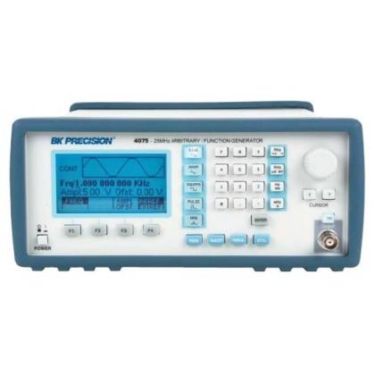 BK4075 - Générateur de fonctions DDS 25 MHz. Arbitraire 100MHz, 1 voie. SEFRAM