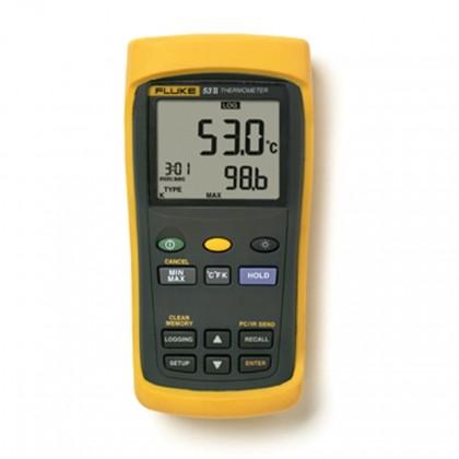 FLUKE 53 II - 50 Series II Digital ThermometerFLUKE 53 II - 50 Series II Digital ThermometerFLUKE 53 II - 50 Series II Digital T