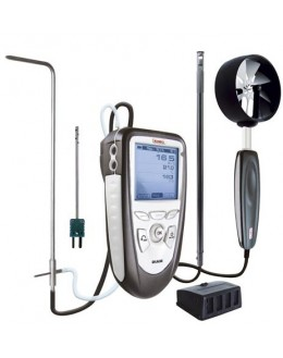 DIAM P - appareil portable analyse de l'air multifonctions - micro anémomètre - Kimo