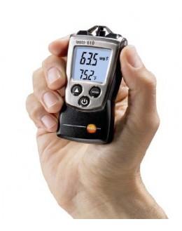 Testeur d'humidité et de température ambiante - pocket line - TESTO - 0560 0610 -Testo 610