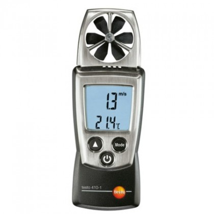 Testo 410-1 - vane anemometer with temperature measurement pocket line - TESTOTesto 410-1 - vane anemometer with temperature mea