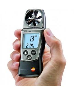 testo 410-2 - anémomètre à hélice avec mes. H% et T°C CTN pocket line - TESTO