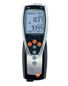 Testo 435-1 - multifonctions pour la clim, la ventilation, le traitement de l'air - TESTO