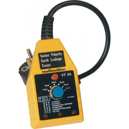 VT 35 Testeur de prises et différentiels P06230301