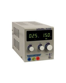 XA1525 - Alimentation de laboratoire - Multimetrix - XA1525