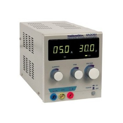 000.Electricité / ElectroniqueXA3051 - Alimentation simple de laboratoire - MULTIMETRIX - XA3151