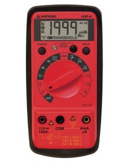 15 XP B - Multimètre numérique avec détection de tension sans contact et test logique - Amprobe