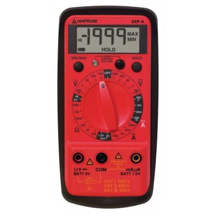 5 XP A - Multimètre numérique avec détection de tension sans contact - Amprobe