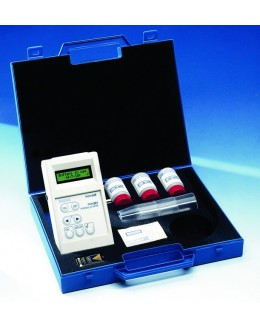 PHM 201/E1 - portable pH meter pH / ° C / ORP - 9.00 to 23 pH ± 1999 mV 0 to 99.9 ° - RADIOMETER TACUSSEL
