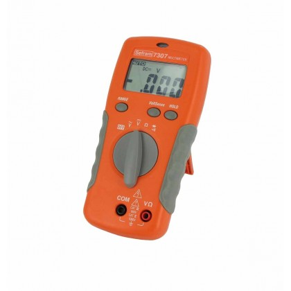 SEFRAM 7307 - Digital Multimeter - SEFRAMSEFRAM 7307 - Digital Multimeter - SEFRAMSEFRAM 7307 - Digital Multimeter - SEFRAM