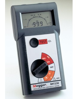 MIT220 - MEGOHMMETRE NUMERIQUE 250 500V - MEGGER