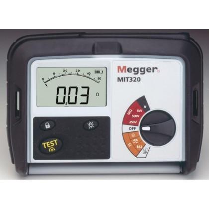 MIT330 - MegOhmMeter 250/500/1000V - MEGGERMIT330 - MegOhmMeter 250/500/1000V - MEGGERMIT330 - MegOhmMeter 250/500/1000V - MEGGE