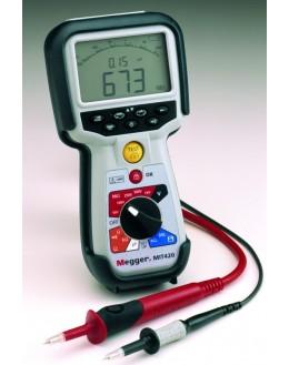 MIT420 - Insulation Tester and Continuity - 50/100/250/500/1000V-fréq-capa-IP-DAR-mémoire - MEGGER