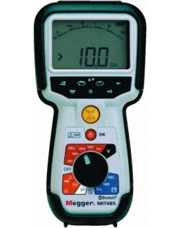 Isolamètre Multimètre 50/100/250/500/1000V-Ifuite-fréq-capa-distance - MEGGER - MIT485/2 - 1004-742 mesureur d'isolement