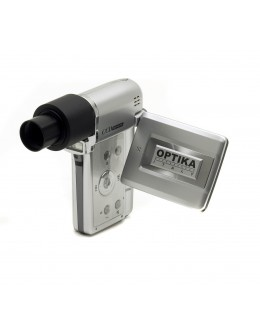 DIGI 12Mpixels digital camera set with optical adapter and measuring software - OPTIKA