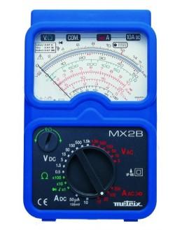 MX2BT/MN - Multimètre analogique portable + pince MN09 + testeur à leds TX01 + mallette - METRIX