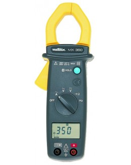 MX350 - Clamp Meter 400A AC 26mm - METRIXMX350 - Clamp Meter 400A AC 26mm - METRIXMX350 - Clamp Meter 400A AC 26mm - METRIX