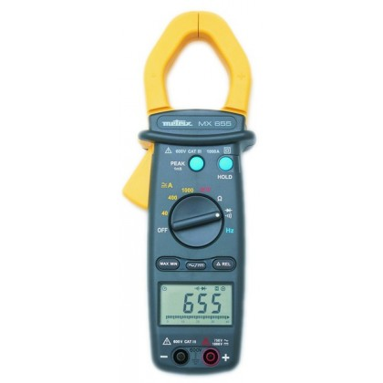 MX655 - Pince multimètre 1000 A AC/DC 40mm - METRIX