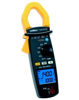 MX675 - Clamp Meter 100-1000 DC-1400A 100-1000A Dual Display AC 10000 points - METRIX