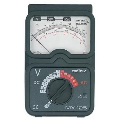 MX125 - Voltmètre analogique de table - METRIX