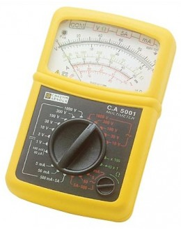 CA 5001 - Analog Multimeter - Chauvin ArnouxCA 5001 - Analog Multimeter - Chauvin ArnouxCA 5001 - Analog Multimeter - Chauvin Ar