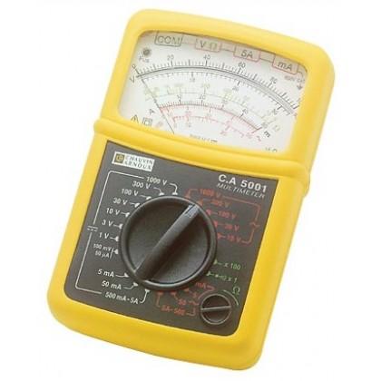 CA 5001 - Analog Multimeter - Chauvin ArnouxCA 5001 - Analog Multimeter - Chauvin ArnouxCA 5001 - Analog Multimeter - Chauvin Ar