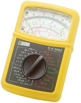 CA5003 - Analog Multimeter complete kit - Chauvin ArnouxCA5003 - Analog Multimeter complete kit - Chauvin ArnouxCA5003 - Analog