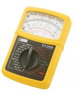CA5005 - Analog Multimeter with forceps in case MN89 - Chauvin Arnoux