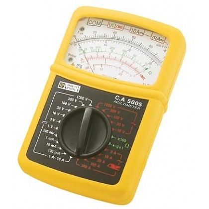 CA5005 - Analog Multimeter with forceps in case MN89 - Chauvin ArnouxCA5005 - Analog Multimeter with forceps in case MN89 - Chau