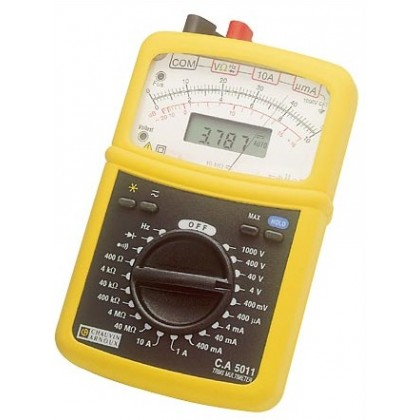 CA5011 - Analog Multimeter Digital - Chauvin ArnouxCA5011 - Analog Multimeter Digital - Chauvin ArnouxCA5011 - Analog Multimeter
