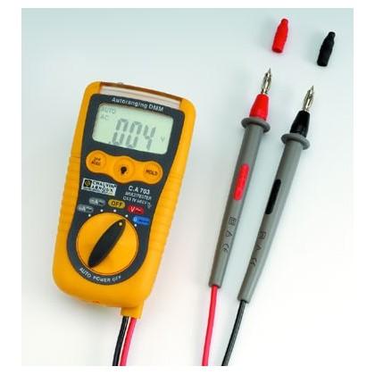 CA703 - Multimètre numérique de poche 2000 points - CHAUVIN ARNOUX