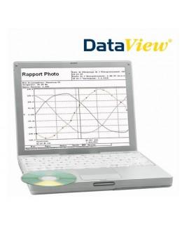 DataView - logiciel pour contrôleurs d'isolement CA6543, CA6547 & CA6549 - CHAUVIN ARNOUX