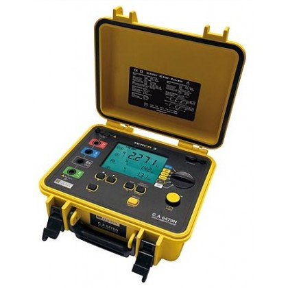 CA6470N TERCA 3 - Controller and earth resistivity - Chauvin ArnouxCA6470N TERCA 3 - Controller and earth resistivity - Chauvin